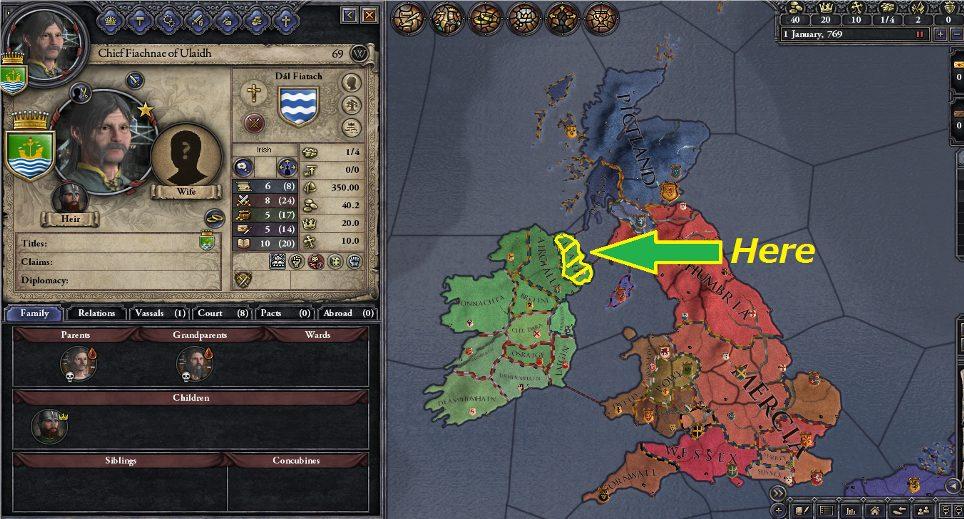 AAR/アイルランド戦記 - CK2 Wiki